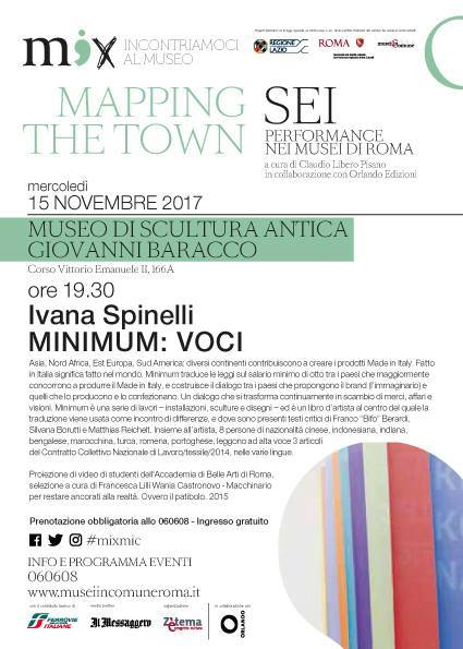 Ivana Spinelli performance @ Museo Barracco, Rome