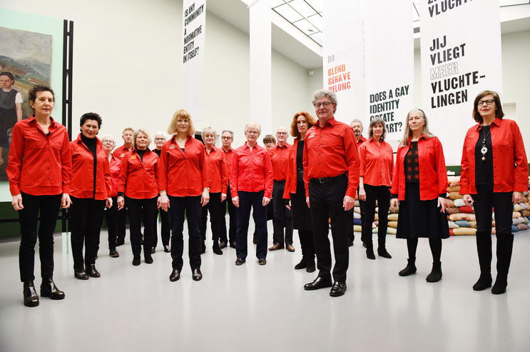 Gluklya in 5 x 5 x 5 - 5 years of the Van Abbemuseum Choir @ Van Abbemuseum, Eindhoven, NL