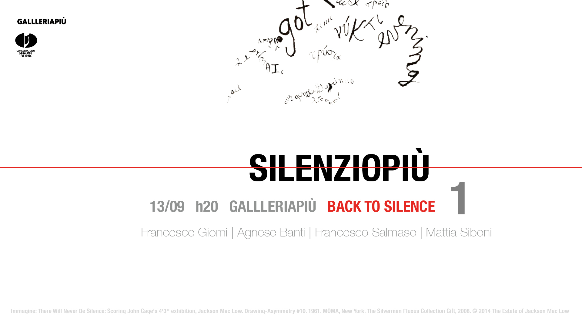 Silenziopiù | Back to silence (2018)