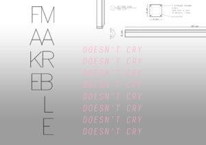 "Furlani-Gobbi & Matteo Cremonesi, ""Fake Marble Doesn't Cry"" a cura di Lisa Andreani"