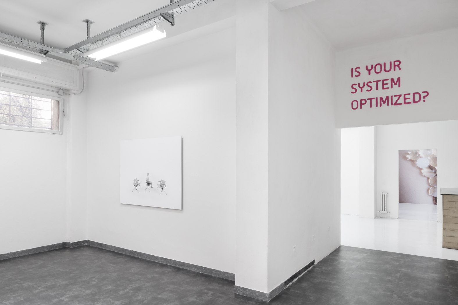Pauline Batista_Is Your System Optimized_exhibition view @GALLLERIAPIU 2019-