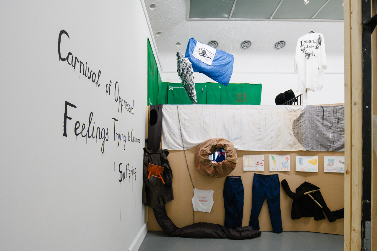 Carnival of the Oppressed Feelings, Positions 4—curated by Charles Esche, Archives Van Abbemuseum, Eindhoven (The Netherlands). (Photo Peter Cox)